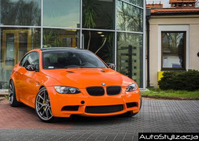 Folia Gloss Orange BMW ME