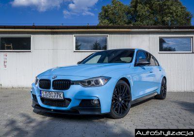 Foliowanie Auta i Dachu w BMW F30