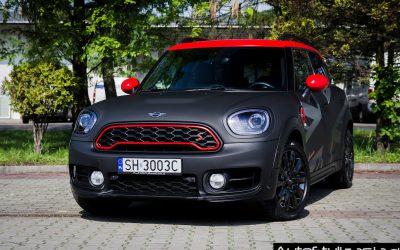 Oklejanie Samochodu MINI Countryman Folią 3M Black Matrix