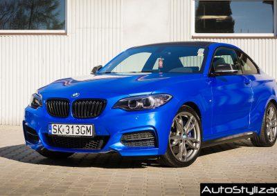 Oklejanie Elementów Auta BMW 235i Folią od KPMF