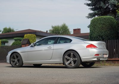 Nakładanie Folii na Auto BMW 6