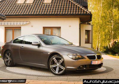 Nakładanie Folii od 3M serii 1080 na Auto BMW 6