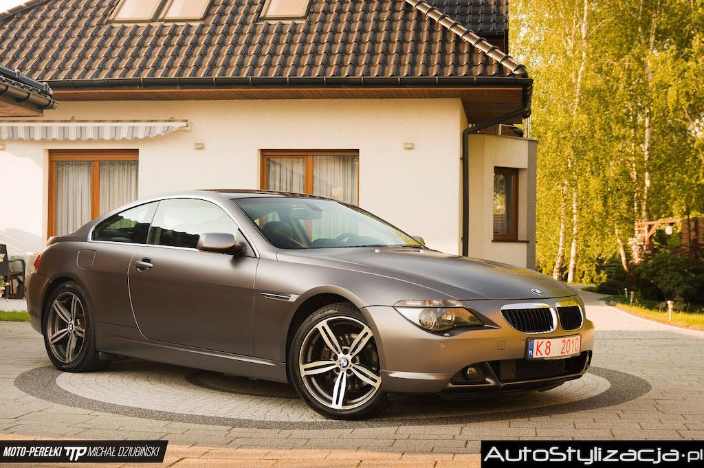 Nakładanie Folii na Auto BMW