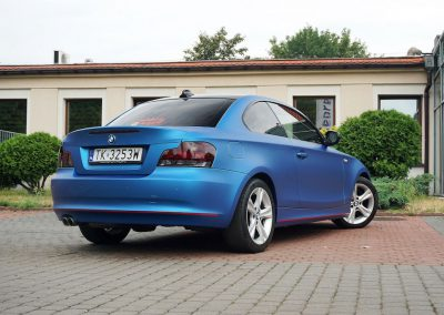 Car Wrapping z Folią 3M dla Auta BMW 1 Coupe