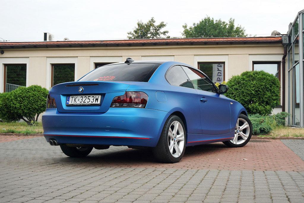 Oklejanie Auta BMW 1 Coupe