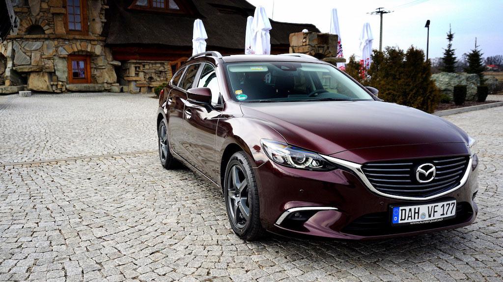 Oklejanie Auta Mazda 6 Kombi