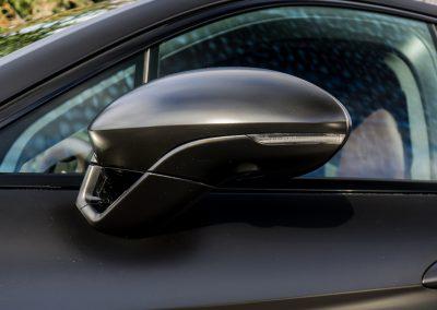 Oklejanie Folią Lusterka Samochodu Porsche