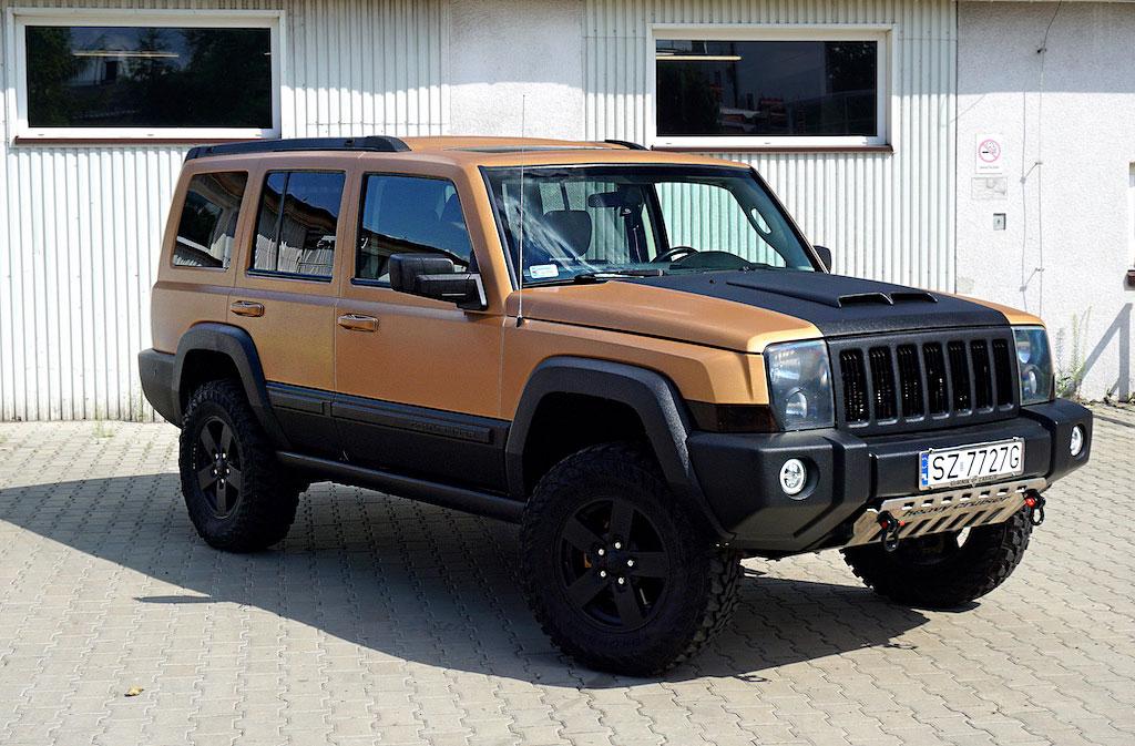 Oklejanie Folią Jeep Comander