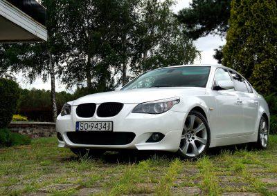 BMW E60 Po Oklejeniu Folią