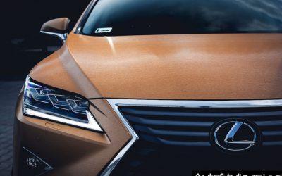 Zmiana Koloru Lexusa RX z Białego na Złota Szczotka