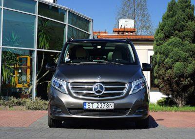 Wyklejanie Samochodu Mercedes Klasy V Folią 3M