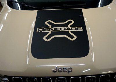 Reklama na Samochodzie Jeep
