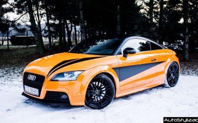 Oklejanie Elementów Karoserii w Aucie Audi TT