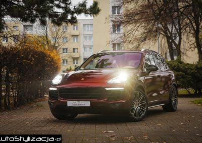 Stylizacja Porsche Cayenne Folią KPMF