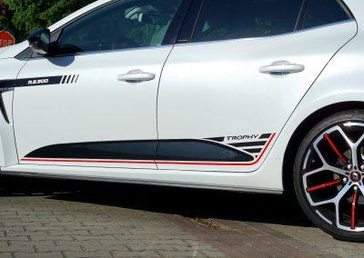 Stylizowanie Nadwozia Auta Renault Megane