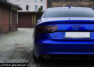Zmiana Koloru Auta Audi A8