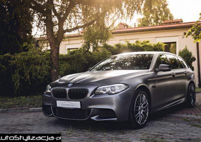 Zmiana Koloru Samochodu w BMW F11 Folią od 3M
