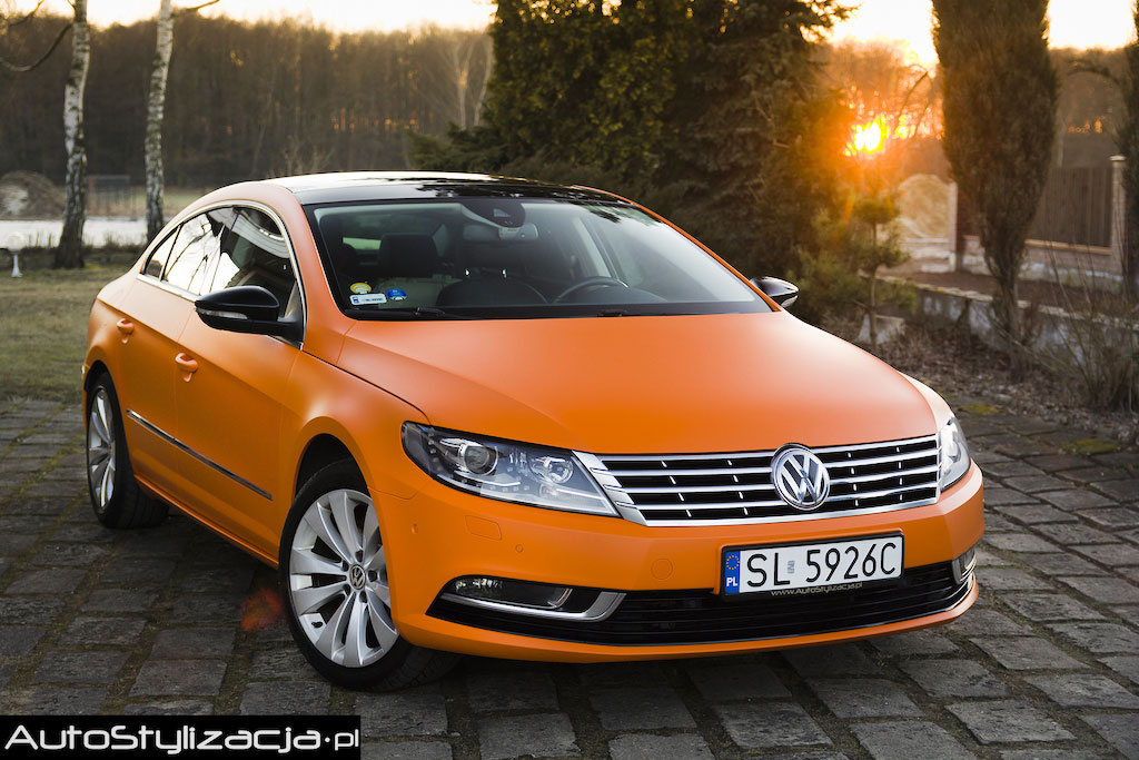Zmiana Koloru Auta VW Passat CC
