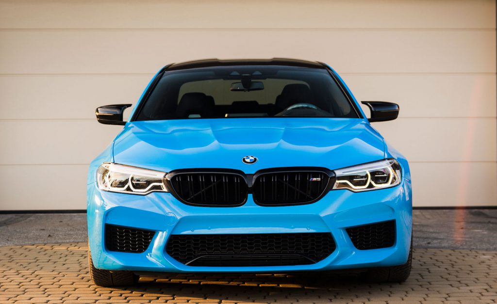 Zmiana Koloru BMW M5