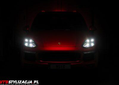 Zmiana Koloru Auta Porsche