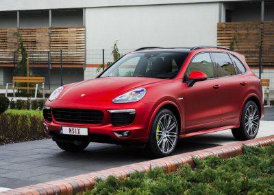 Zmiana Koloru Samochodu Porsche Cayenne