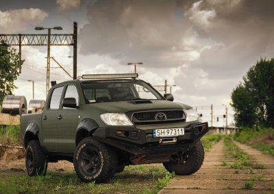 Toyota Hilux Oklejanie Folią 3M Shadow Military