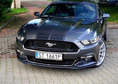 Pasy z Folii Na Całym Aucie Ford Mustang
