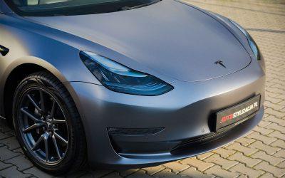 Oklejanie Auta Tesla Model 3 Folią od 3M