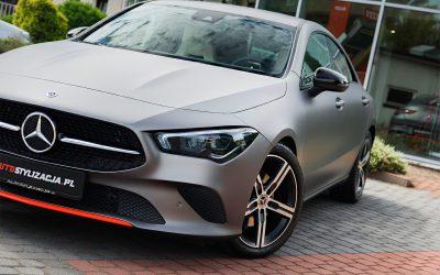 Zmiana Koloru Mercedesa CLA na Szary Mat Metalik