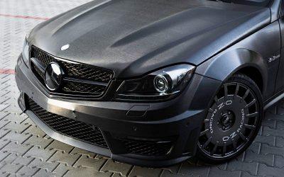 Oklejanie Auta Mercedes AMG C63 Coupe Folią 3M