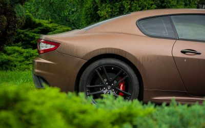 Zmiana Koloru Auta Maserati Gran Turismo
