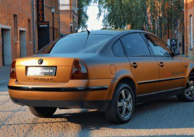 Oklejanie Firmowego Auta VW Passat B5 FL