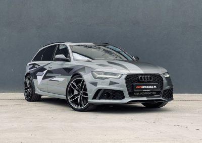 Stylizacja Auta Audi RS 6 z 2018 Folią od 3M